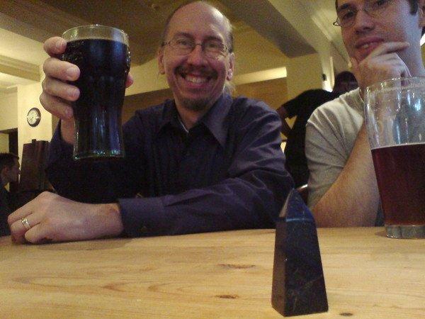 Bob, Blue Obelisk and a Coke