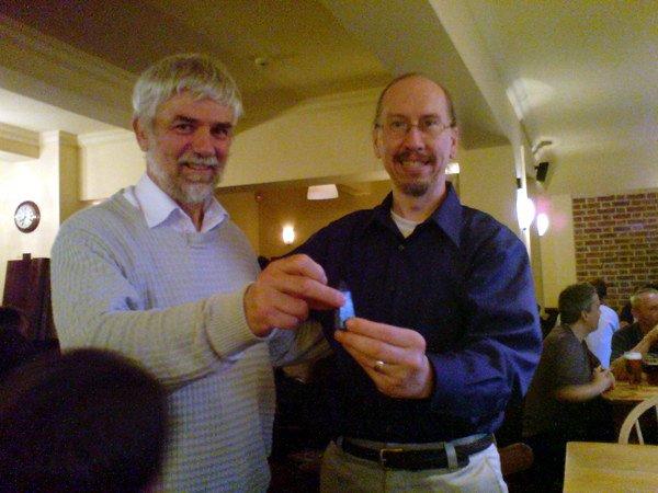 Bob receives his Blue Obelisk II